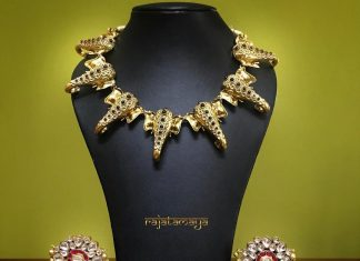 Silver Ganesa Necklace From Rajatmaya