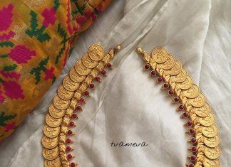 Silver Gold Polish Necklace From Tvameva