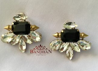 Simple And Elegant Studs From Bandhan