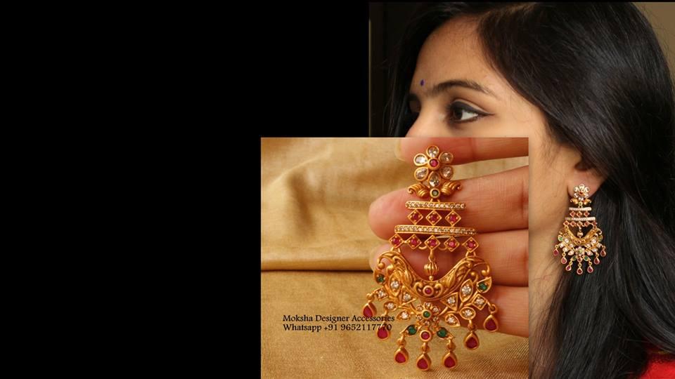 Stunning Earring From Moksha