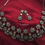 Stunning Stone Necklace Set From Tvameva