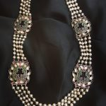 Stunning Kundan Beads Necklace From Rajatmaya