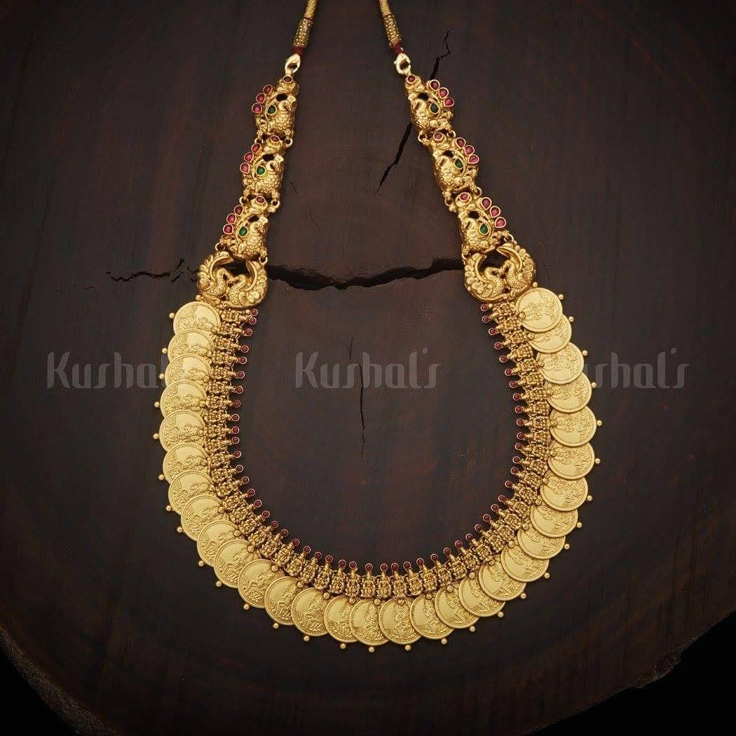 Traditional Kasamalai From Kushals Fashion Jewellery