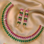 AD Stone Choker Set From Accessory Villa