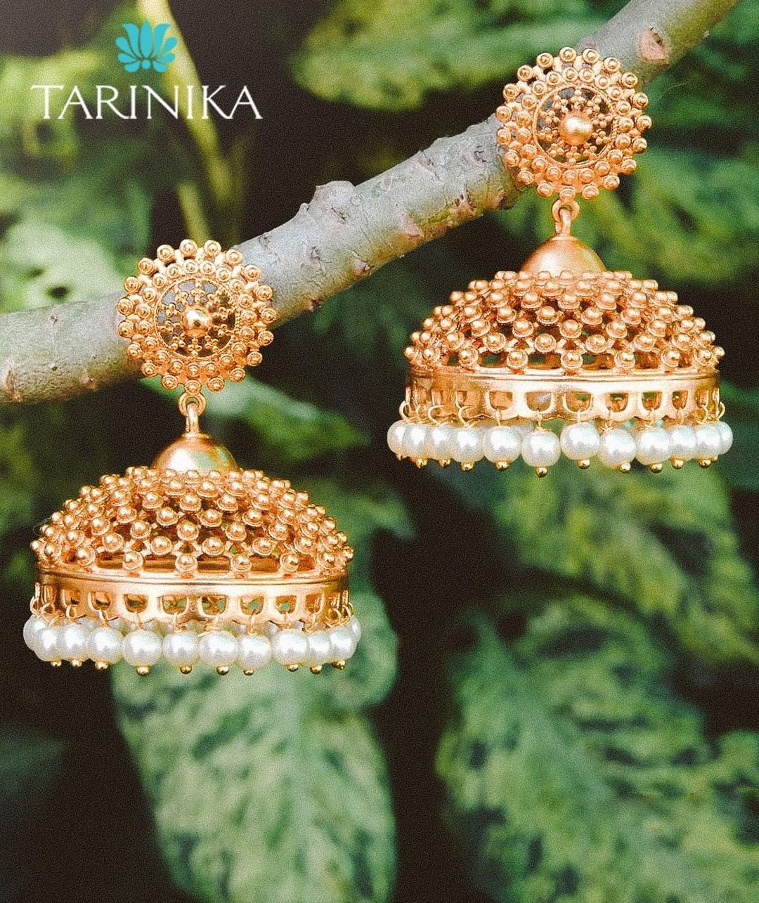 Bold And Beautiful Jhumka From Tarinika