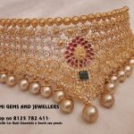 Bold Choker From Mahalakshmi Jewellers