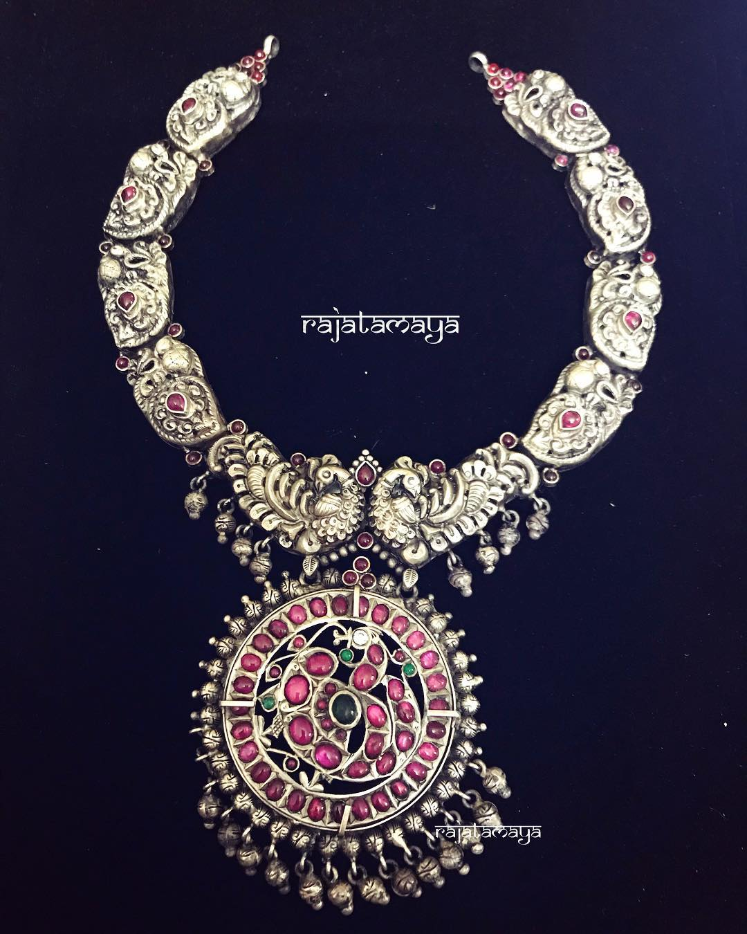 Classy Silver Necklace From Rajatamaya