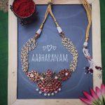 Cute Imitation Choker From Aabharanam