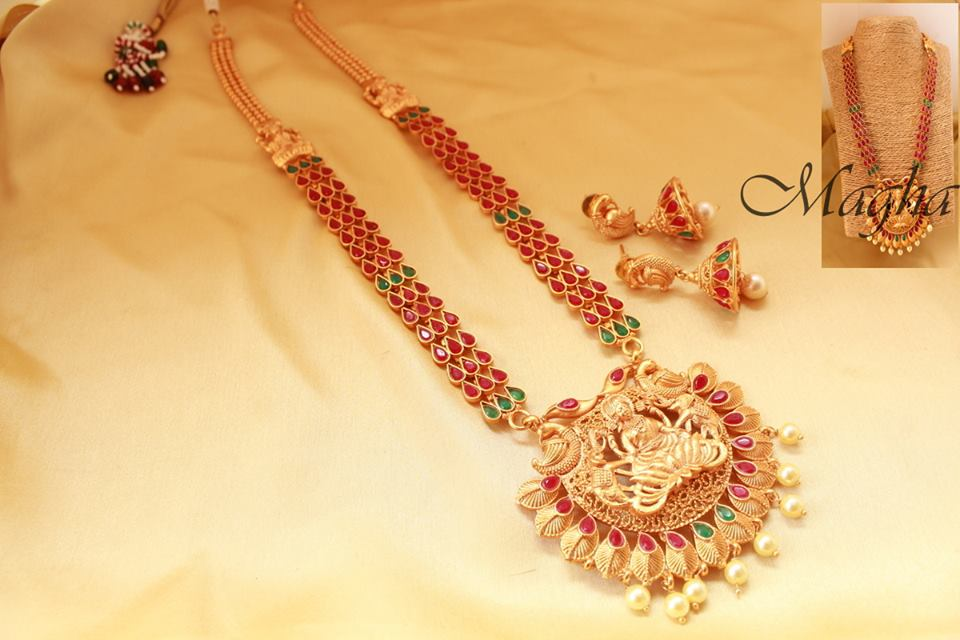 Ethnic Temple Necklace From Magha Store