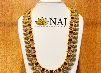Grand Ruby Haram From NAJ Jewellery