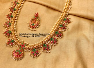 Long Necklace Set From Moksha Designer Accessories