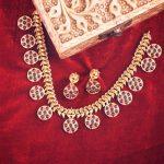 Modern Necklace Set From Tarinika