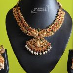 Precious Necklace Set From Aarvee Chennai