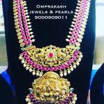 Precious Ruby Haram From Omprakashjewels