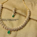 Pretty Stone Necklace From Moksha Designer Accessories