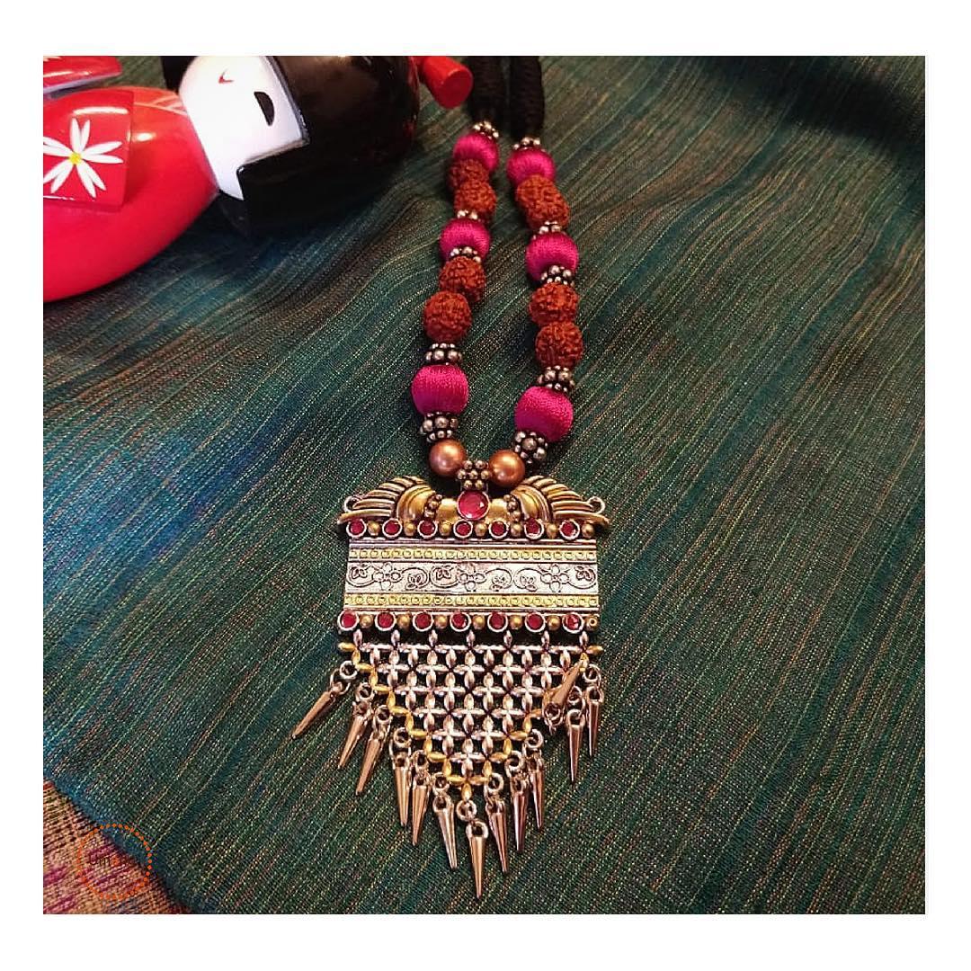Rudhraksha Beads Necklace From Umangbeads