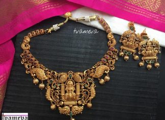 Temple Choker Set From Tvameva