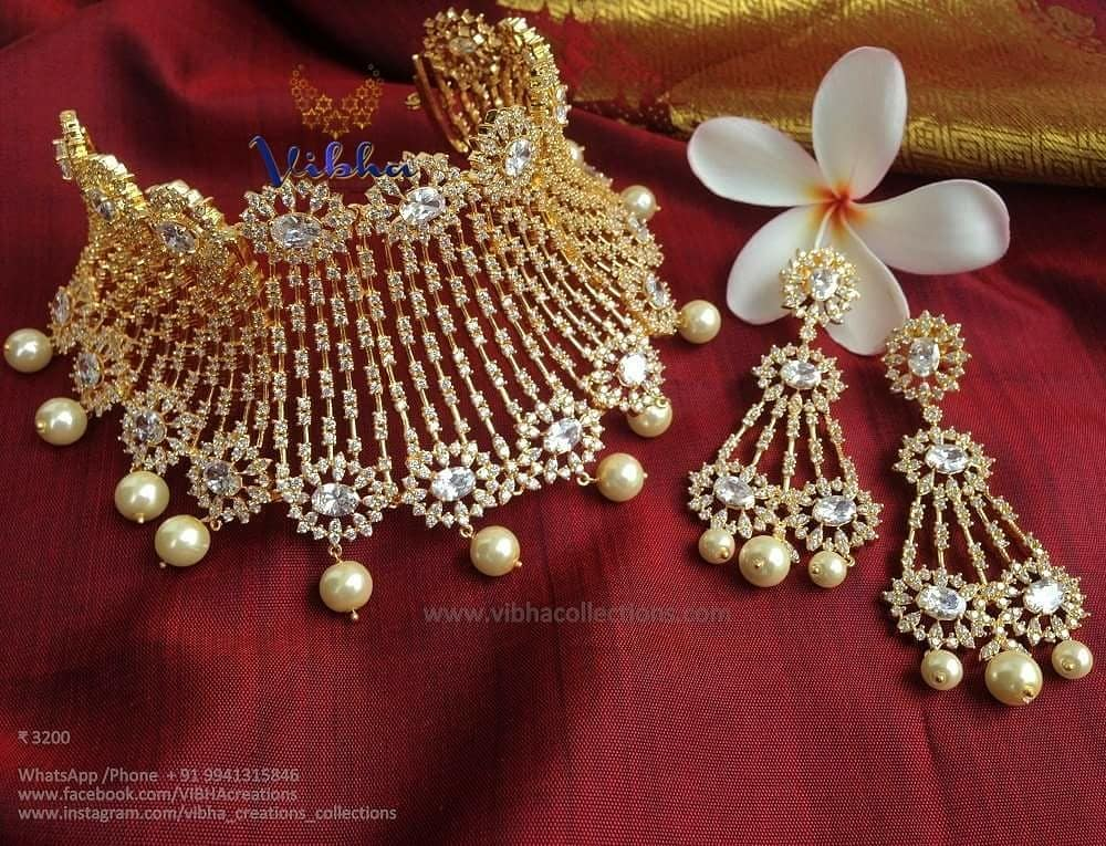 Trendy Party Wear Chokers From Vibha Creations
