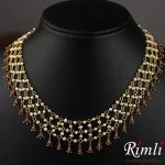 Cluster Pearl Necklace From Rimli Boutique