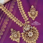 Elegant Long Necklace Set From Bandhan