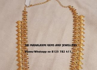 Ethnic Gold Haram From Mahalakshmi Gems And Jewellers