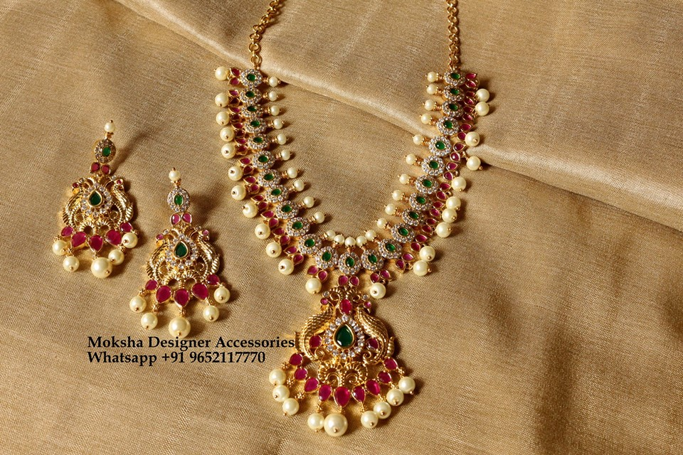 Ethnic Neclace Set From Moksha Designer Accessories