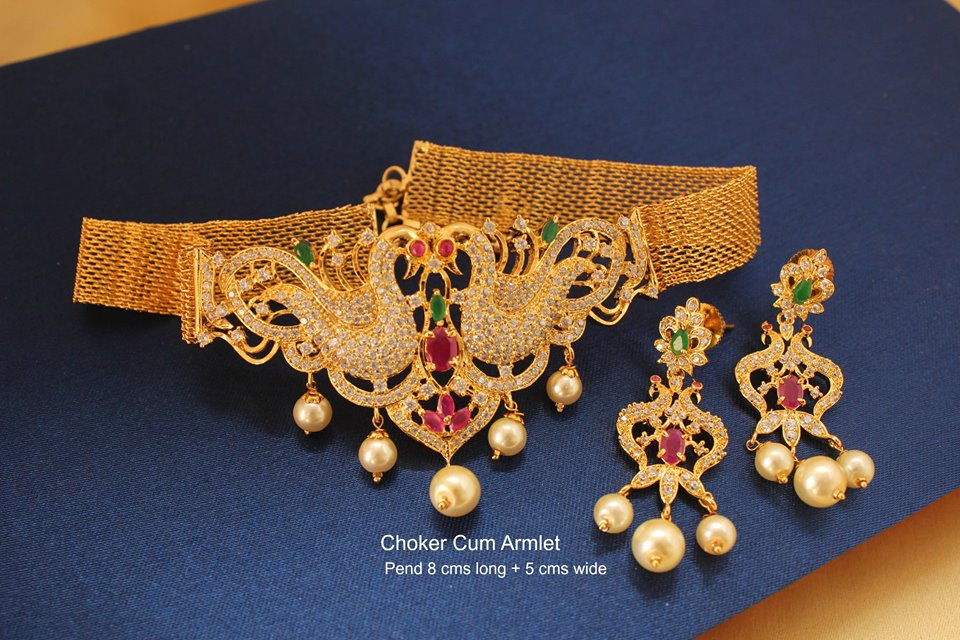 Eye Catching Choker Set From Magha Store
