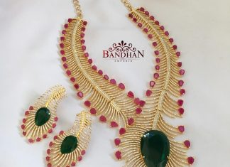 Eye Catching Necklace Set From Bandhan