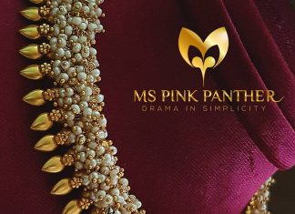 Eye Catching Pearl Necklace From Ms Pink Panthers