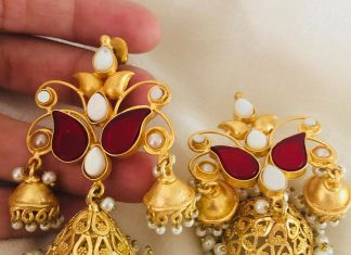 Gorgeous Brass Jhumka From Aatman India