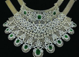 Gorgeous Diamond Set From P.Satyanarayan Sons Jewellers
