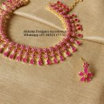 Gorgeous Pink Necklace From Moksha Designer Accessories
