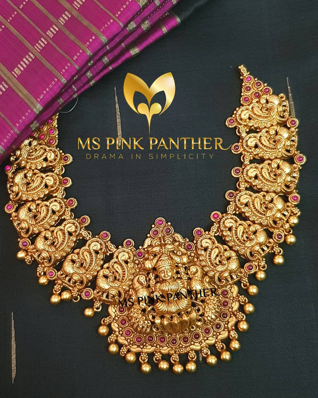Gorgeous Temple Necklace From Ms Pink Panthers