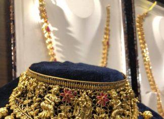 Precious Gold Chokern From Premraj Shantilal Jain- Jewellers