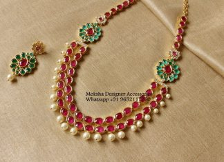 Pretty Multilayered Necklace From Moksha Designer Accessories
