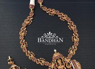 Temple Necklace From Bandhan