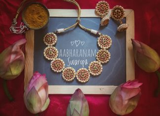 Traditional Necklace From Abharanam