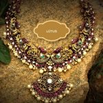 Adorable Necklace From Gold Lotus Silver Jewellery