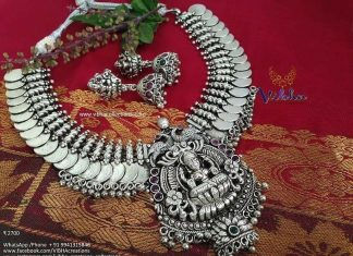 Alluring Lakshmi Necklace From Vibha Creations