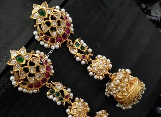 Beautiful Jhumka From Parampariya