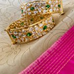 Beautiful Kada Bangle From Sree Exotic Jewelleries