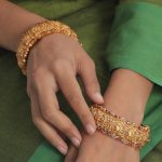 Beautiful Stone Bangle Set From Tarinika