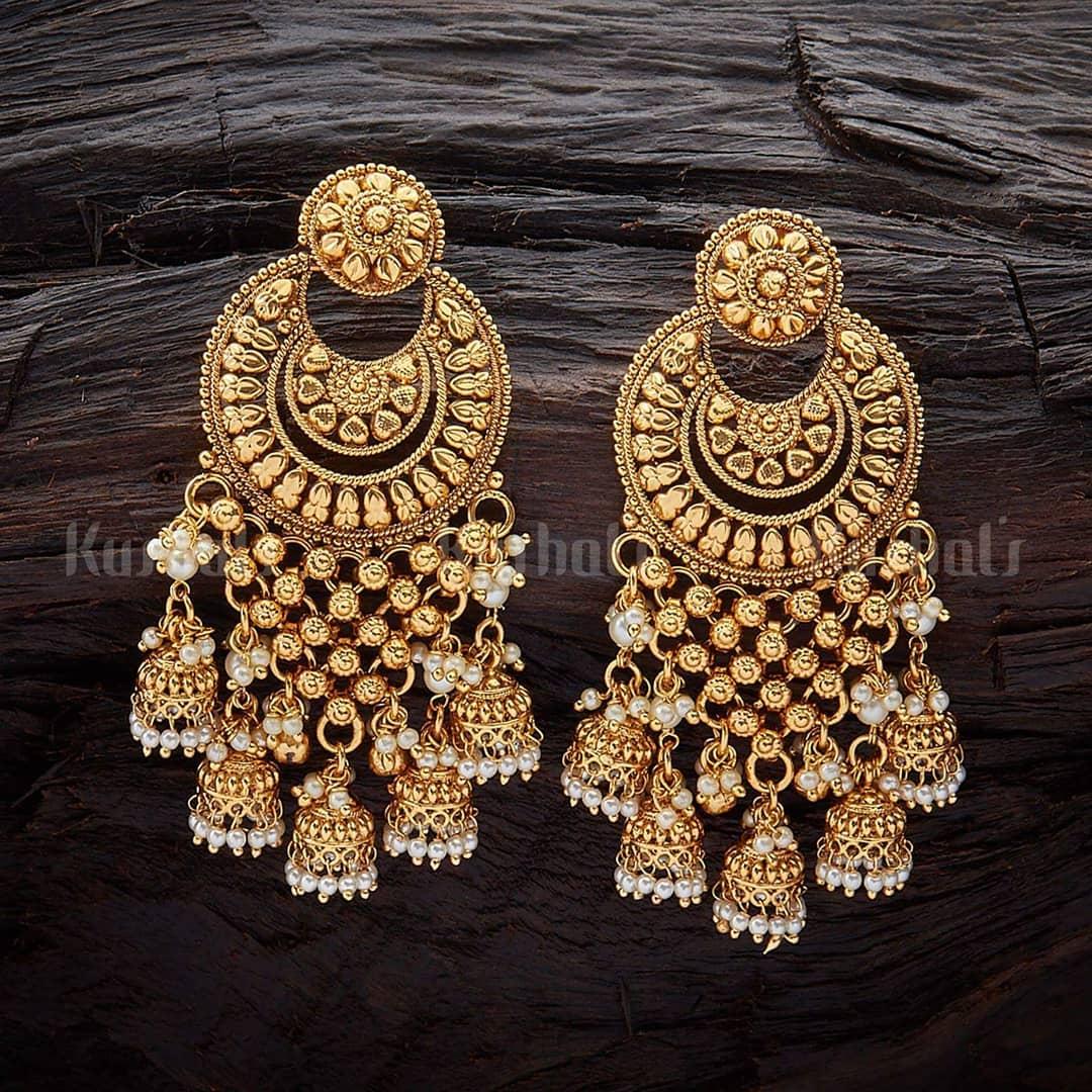 Classic Jhumka From Kushal's Fashion Jewellery