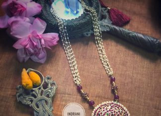 Classic Long Necklace From Aabharanam