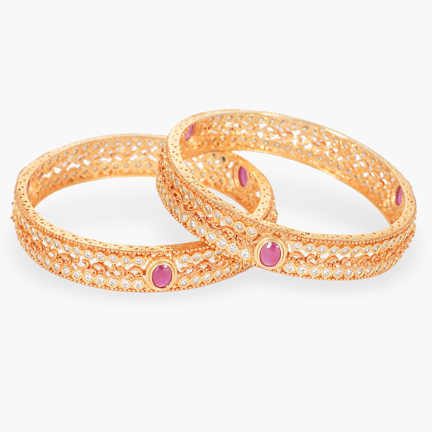 Exotic Pink Bangle From Tarinika