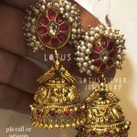 Eye Catching Jhumka From Lotus Silver Jewellery
