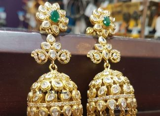 Gold Plated Jhumka With Water Pearls From Bcos Its Silver