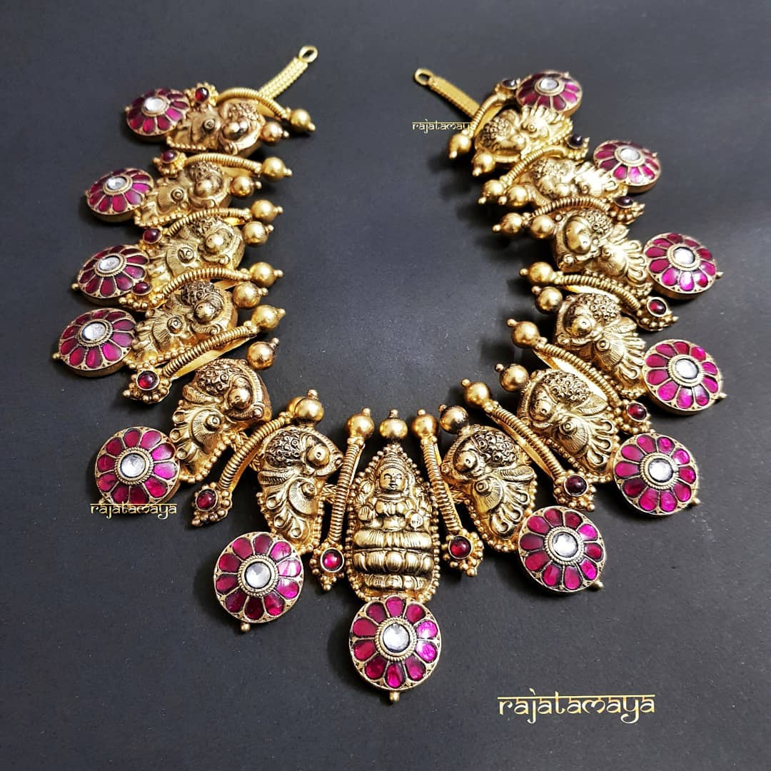 Graceful Necklace From Rajatamaya