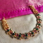 Graceful Stone Necklace From Sree Exotic Silver Jewelleries