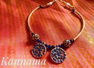 Handmade Simple Necklace From Jayashandiworks